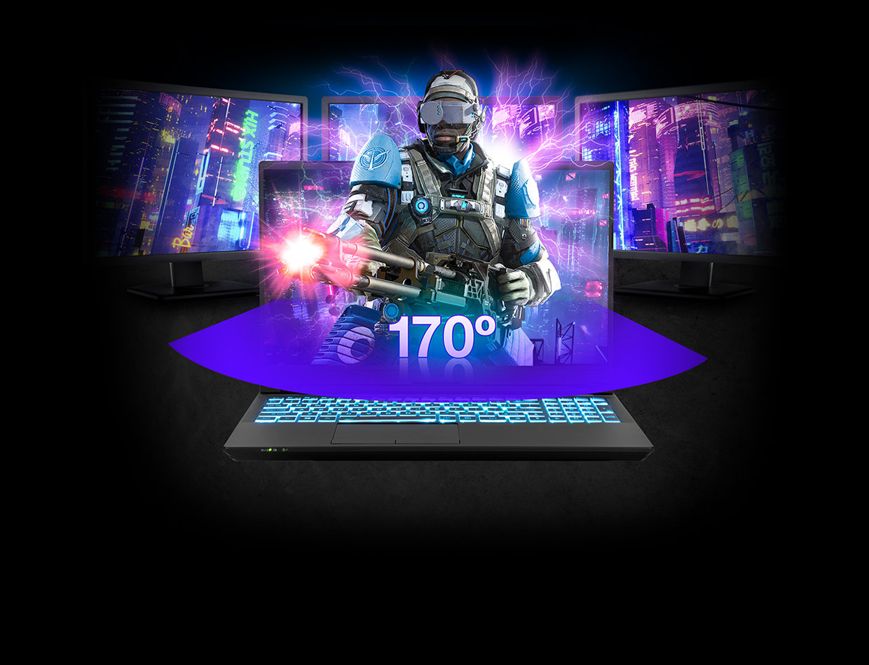 144Hz, Wide View Angle, 72% NTSC Panel